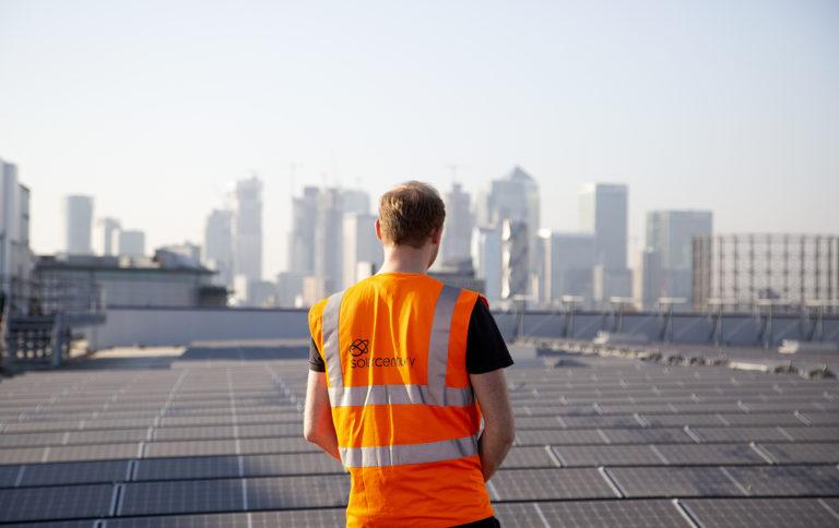 Solar rooftop installer